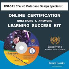 Learn Database Design Online Amazon Com 1d0 541 Ciw V5 Database Design Specialist Online