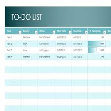 Task List Template Excel – Teletienda.club