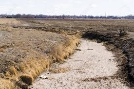 drainage ditch drainage ditch without water stock photo picture and royalty free
