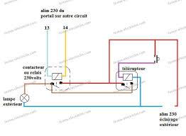Lectricit Conseils Branchement Deux Circuits D Ud Ouverture Electrique De  Portail With Schema .
