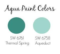 aqua paint colorsThe 25 best Aqua paint ideas on Pinterest  Aqua rooms Coral
