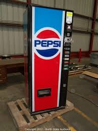 Pepsi Vending Machine Serial Number Stunning North State Auctions Auction November Super Consignment Auction