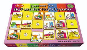 Aybino Çocuklar için Hafıza Kartları