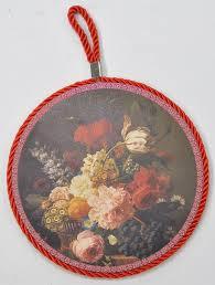 16 cm diameter pot stand trivett fl antique european kitchen gadgets elegant flower