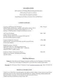 Sample Welder Resume