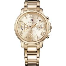 watch official uk outlet francis gaye jewellers ladies rose gold claudia chronograph watch