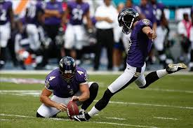 Justin Tucker Kicking field goal