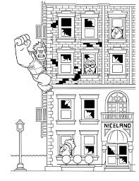 Small Picture Wreck it Ralph Climb a Building Coloring Pages Batch Coloring