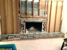 remove brick fireplace remove brick fireplace how to remove a brick fireplace ideas remove brick wall around fireplace