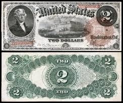 united states two dollar bill  large size edit