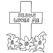 Top 10 Free Printable Cross Coloring Pages Online