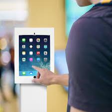 ipad pro 12 9 tamper proof anti theft display kiosk wall mount tablet holder