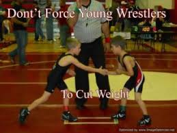 negatives of young wrestlers cutting weight
