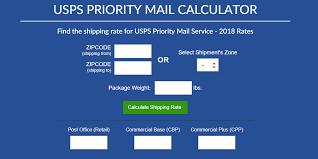 Usps Priority Mail Calculator 2019 Shippingeasy