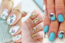 super cute summer nail art design to try this summer