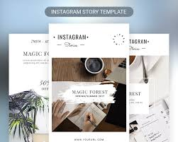 Free Design Templates For Instagram Instagram Stories Template Free Psd Download Psd