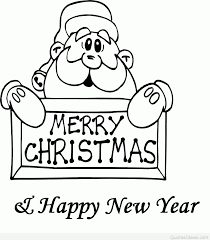 merry christmas and happy new year 2015 black and white. With Merry Christmas And Happy New Year 2015 Black White