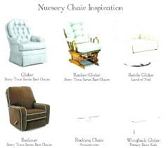 leather gliders for nursery rocking chair and chairs glider delta children f