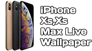 iPhone XR & Xs Live Wallpaper On ...