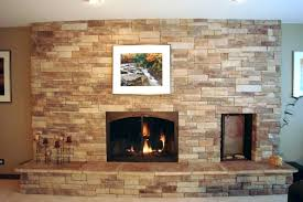 faux rock fireplace painting over cost of stone for fireplaces north star hearth pictures fir
