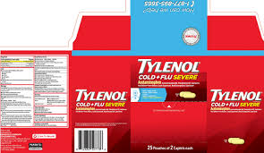 Tylenol Cold And Flu Severe Dosage Chart Tylenol Cold Plus Flu Severe Tablet Jc World Bell