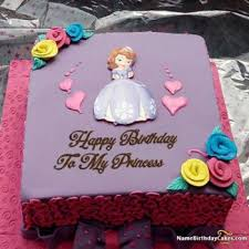 96 Birthday Cake With Name For Girls Happy Birthday Fairy Cake
