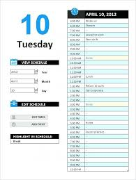 Free Printable Salon Appointment Calendar Templates Daily