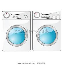 washing machine and dryer clipart. vector illustration of a washing machine beside dryer and clipart i