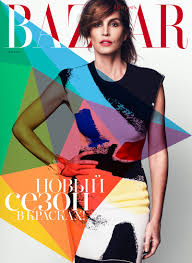 supermodel cindy crawford stuns for xavi gordo in bazaar russia shoot