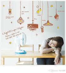 sk9001 creative chandeliers wall stickers gorgeous light vinyl stickers chandelier wall decal wallpaper poster home decor childrens wall decals childrens