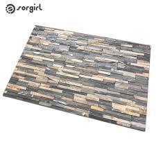 simulation brick floor tiles doormat front door mat carpet entrance indoor eco friendly natural non slip floor mat bathroom rug outside patio cushions