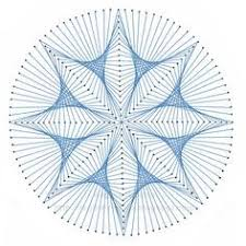 Geometric String Art Patterns Simple 48 Best String Art Images On Pinterest Sculptures String Art And