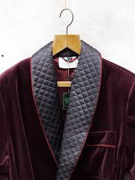 Velvet Smoking Jacket | Burgundy Crushed | Tails and the Unexpected & Smoking Jacket | Burgundy Velvet Smoking Jacket | Burgundy Velvet ... Adamdwight.com