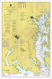 Chesapeake Bay Maps Charts Chesapeake Bay Nautical Chart Nautical Chart Chesapeake Bay Maryland Map Virginia Map Sailing Map Sailing Art Nautical Print 1927