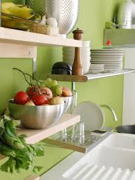 Small Picture Design Ideas for Kitchen Shelving and Racks DIY