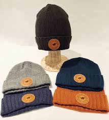 leather patch taft beanie zoom