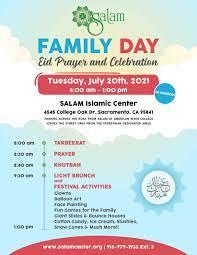 Eid-ul-Adha 2021 - SALAM Islamic Center