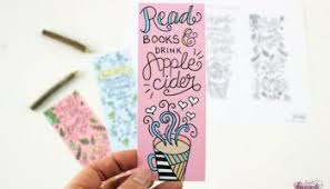 Bookmark Coloring Pages Free Printable Coloring Page Bookmarks Dawn Nicole