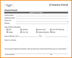 vacation forms for employees vacation request form word rome fontanacountryinn com