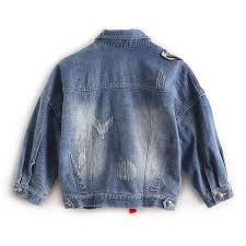 Colorful Butterfly Embroidery denim jacket women <b>spring autumn</b> ...