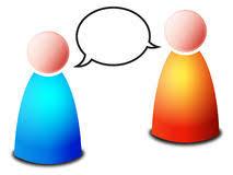 Znalezione obrazy dla zapytania dialog rozmowa