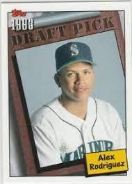 Eddie rosario 2015 topps update #us341 rookie card Alex Rodriguez 1993 Topps Draft Pick Seattle Mariners Baseball Card Arod Yankees Ebay