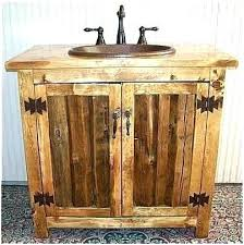 rustic bathroom sink cabinets. Fearsome Rustic Sink Vanity Bathroom Cabinets A  Inspirational Ms Split Log E