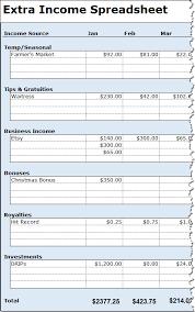 Free Income Statement Spreadsheet Samplebusinessresume Com