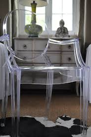 Ghost Acrylic Chair  Via A Perfect Gray.com