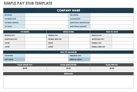 Free Payroll Stub Template Mesmerizing Free Download Free Pay Stub Templates Top Template Collection