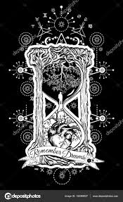 ᐈ эскизы тату песочные часы векторные изображения рисунок