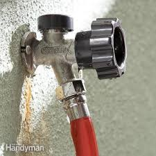 garden hose faucet repair fix a leaking frost proof faucet the family handyman