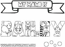 Small Picture create your own coloring pages with your name download Printable