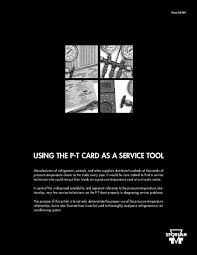 How To Read A Pt Chart Using The Pt Card As A Service Tool Parker Hannifin